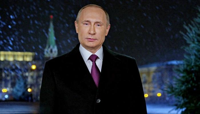 Новогоднее обращение президента В.В.Путина 2018. Видео
