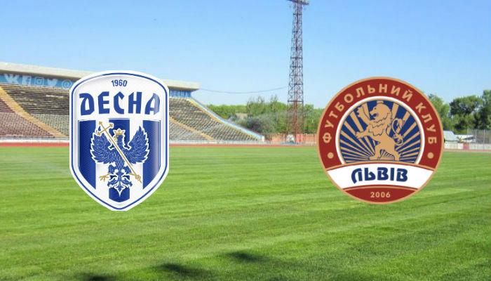 Футбол Десна - Львов 30.07.19 прямая трансляция